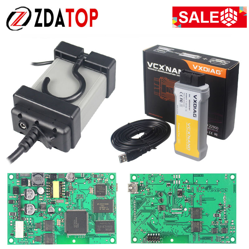 Newest For Volvo Vida Dice 2014D Car Scanner For Volvo Vida Dice With Full Chip For Volvo Vida Dice VXDIAG For Volvo Dice USB