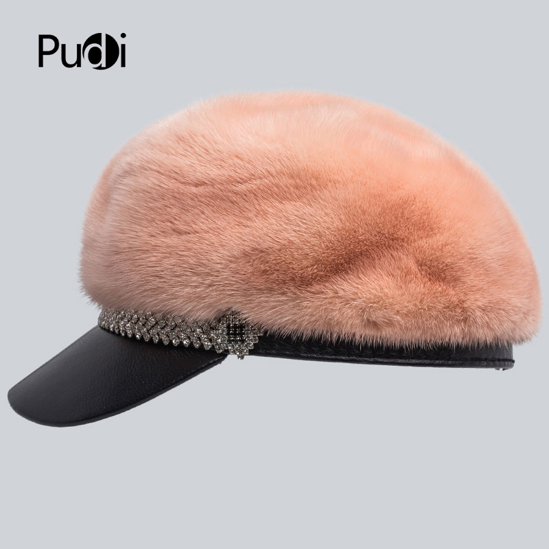 Svadilfari Hot Seller Winter 2018 Cowskin Baseball Elderly Cap Gift For Dad Mom Genuine Leather Ear Man Woman Warm Casual Hat - 2