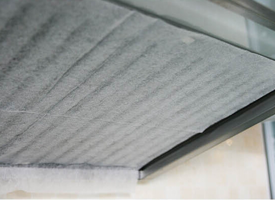 2pcs/lot Kitchen <font><b>Rangehood</b></font> Oilproof Anti-fouling Filter Oil Paper Non-woven Absorbents Filtration Membrane