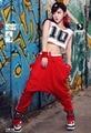 2015 free shipping Low Crotch Haroun Harem Pants Cropped Baggy Hip hop pants hip hop women Free shipping Drop crotch pants