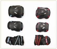 NEW 6pcs/set Skating Protective Gear Sets Elbow pads Bicycle Skateboard Ice Skating Roller Protector For Adult Boy Kids