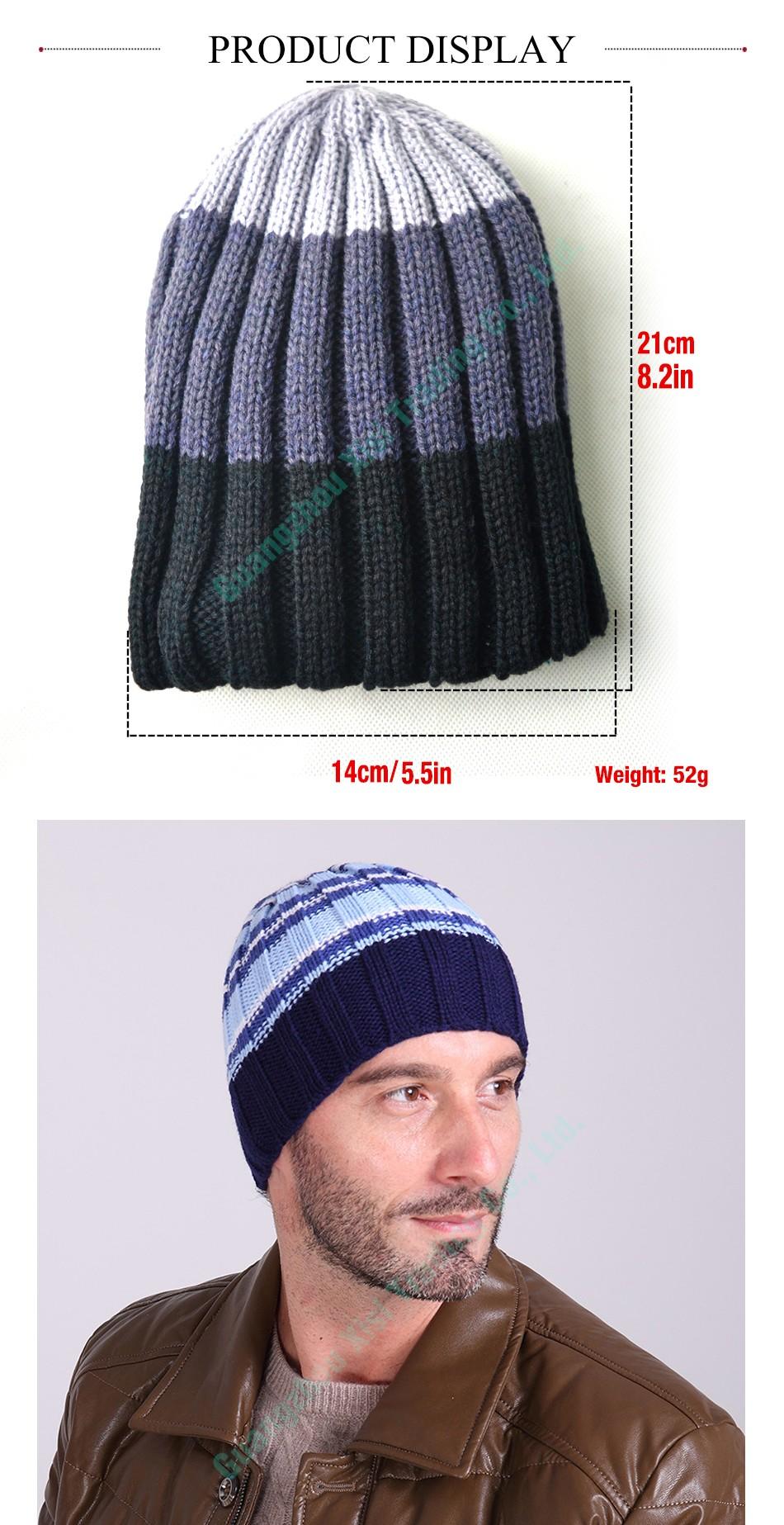 Spring Women Men Unisex Knitted Winter Cap Casual Beanies Solid Color  Hip-Hop Snap Slouch Skullies Bonnet Beanie. aa bb cc dd ee ff gg. Hat Gorro 723b880ea11d