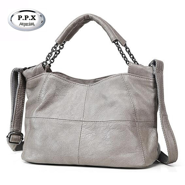 Hot Las Genuine Leather Handbags Contracted Cowhide Women Single Shoulder Bags Soft Crossbody Small