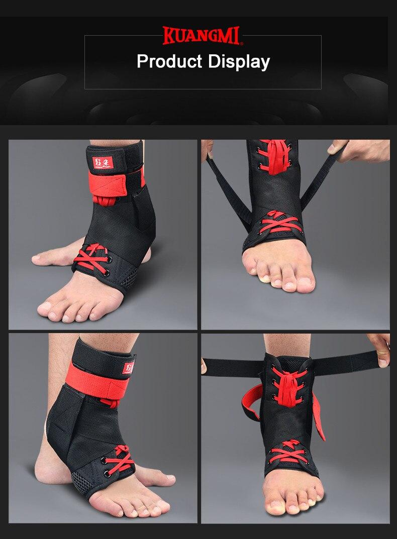 esportes pé estabilizador ajustável tornozelo sockstraps protetor