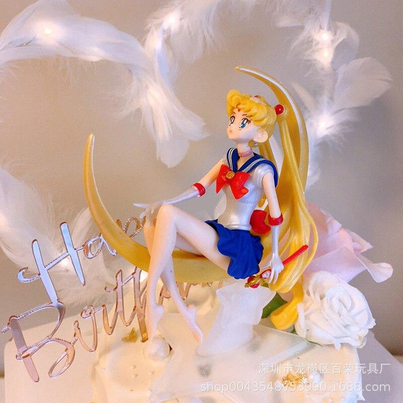 Sailor Moon Decorative Ornaments Set Magic Wand For Girl Birthday Gift
