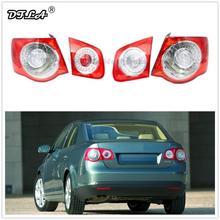 Автомобильный светодиодный фонарь для VW Jetta V 5 2005 2006 2007 2008 2009 2010 2011 Автомобильный Стайлинг светодиодный задний фонарь лампа правая сторона внешний LHD