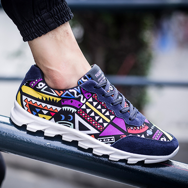 New England Fashion Brand font b Men b font Loafers lace up Canvas font b Men