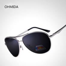new pilot sunglasses men polarized uv400 high quality retro vintage men