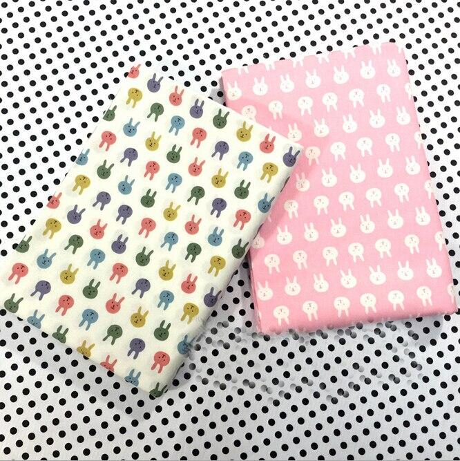 Farm Yard Tissu FQ Mètre Tissu tissus 100/% Coton Animaux Quilting Children/'s