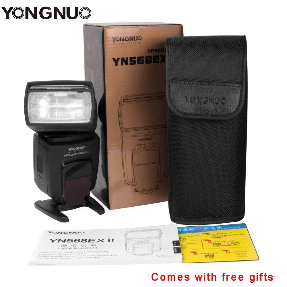 Yongnuo YN568EX II Wireless 4-Channel TTL HSS Flash Speedlite 1/8000s for Canon E-TTL/E-TTL II Camera, YN568EX for Nikon D7100 aputure 16 channel flash speedlite