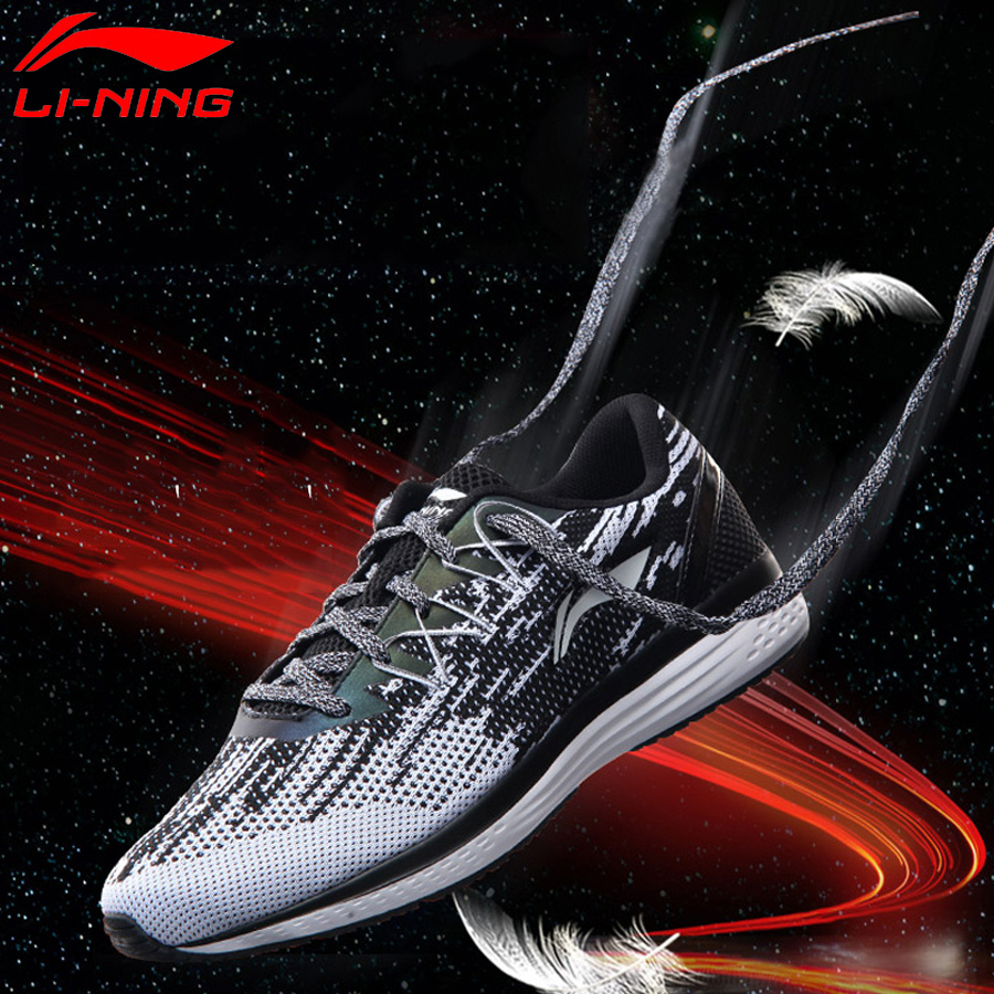 Li Ning Men's 2018 Speed Star Cushion Running Shoes Breathable Textile Sneakers Light LiNing Sports Shoes ARHM063-in Running Shoes from Sports & Entertainment