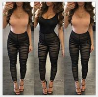 2019 new style lace sexy body was thin elegant splicing piece pants burst models