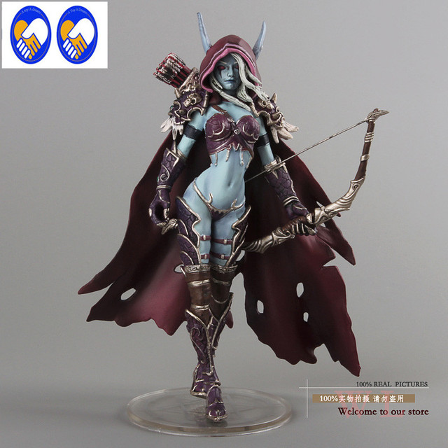 lady windrunner Wow model sylvanas