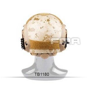 Image 4 - FMA Новый Камуфляжный морской шлем AOR1 TB1180 M/L/XL для страйкбола