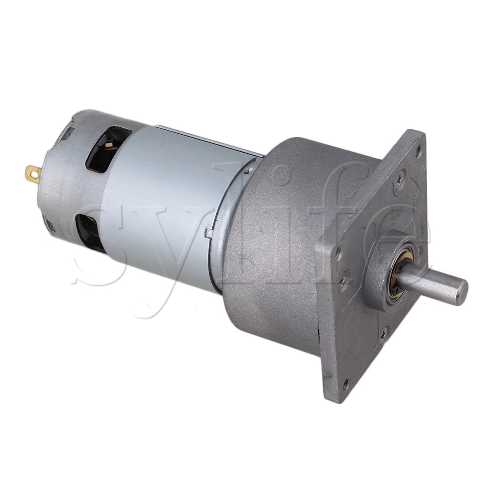 Generic High Torque 24V DC 10 RPM Gear-Box Electric Motor Replacement 4600r/min цена