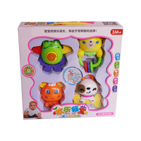 Baby Rattle Toys 4 PCS SET Plastic Rattle Music Baby Toys For 0 12 Months Baby