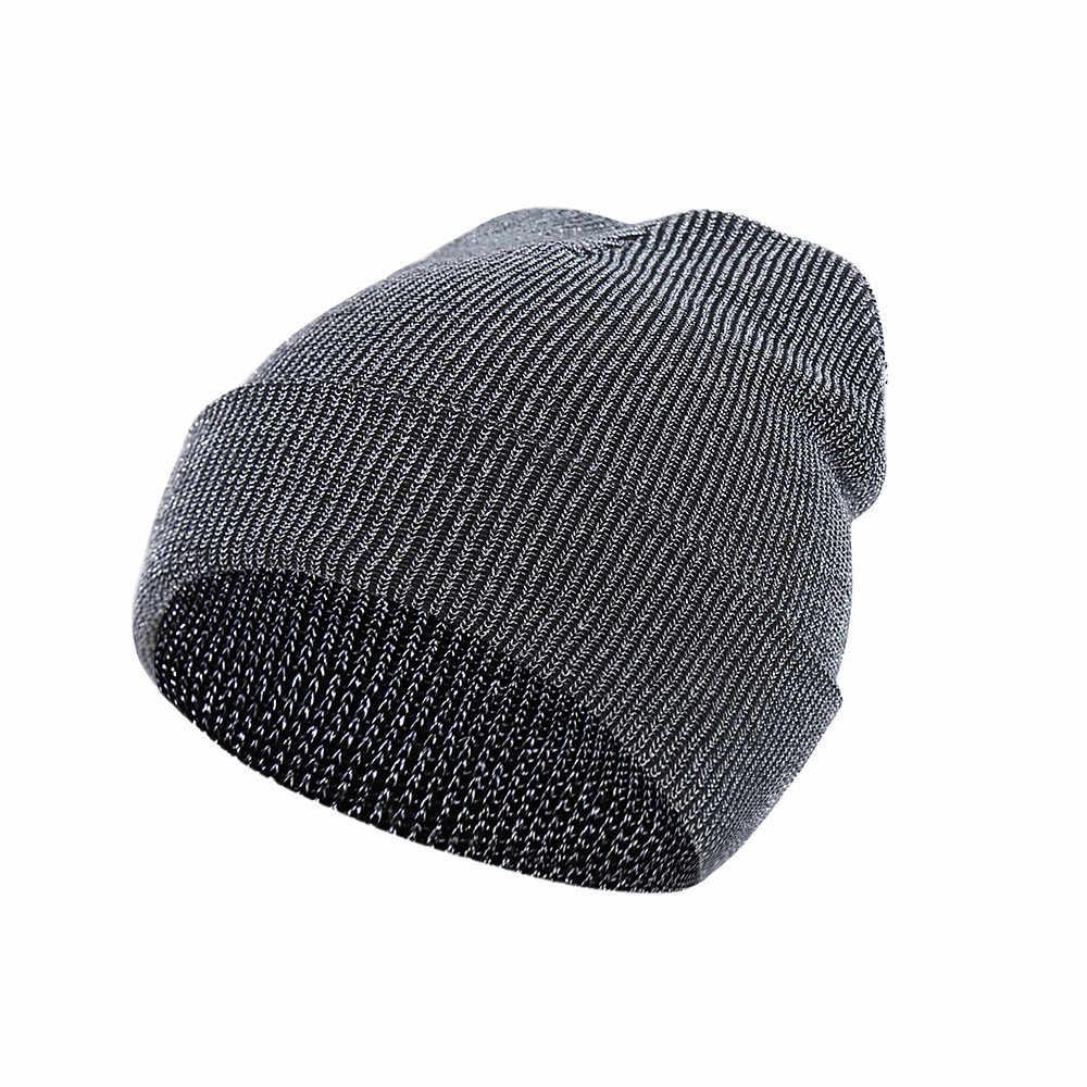 KANCOOLD Outdoor Fashion Headwear Women Cap Knit Hedging Head Baggy Warm Hat Skull Crochet Winter Ski Beanie Slouchy Caps PJ1012