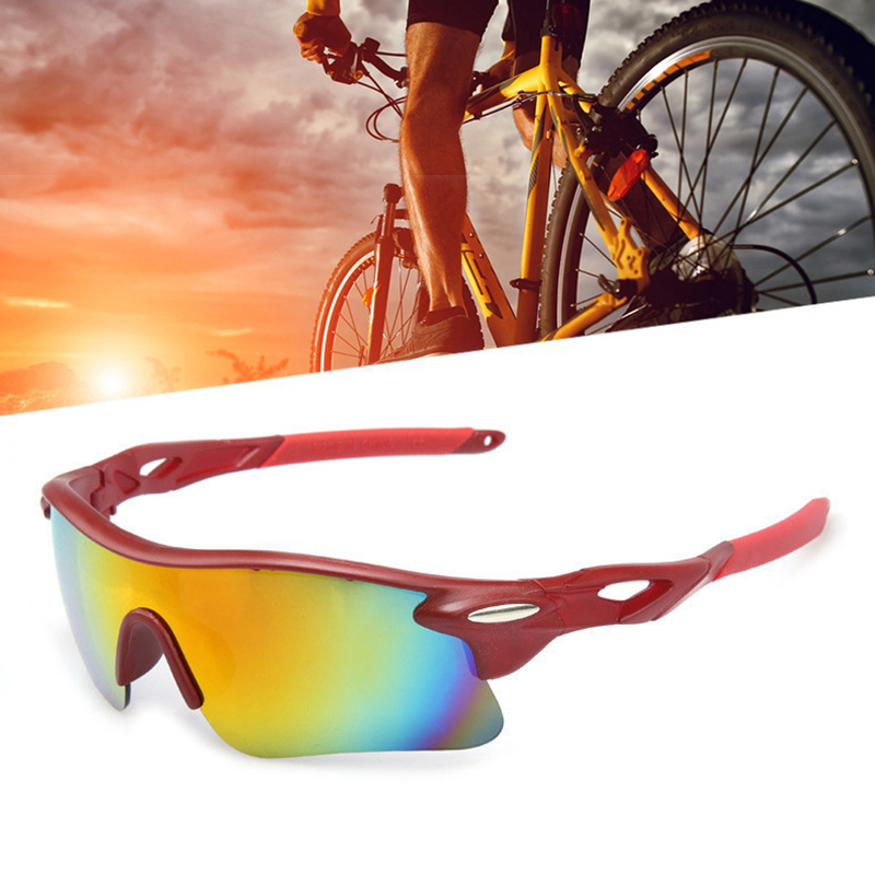 Cycling Eyewear Unisex Outdoor Sunglass UV400 Bike Cycling Glasses Bicycle Sports Sun Glasses Riding Goggles GHMY