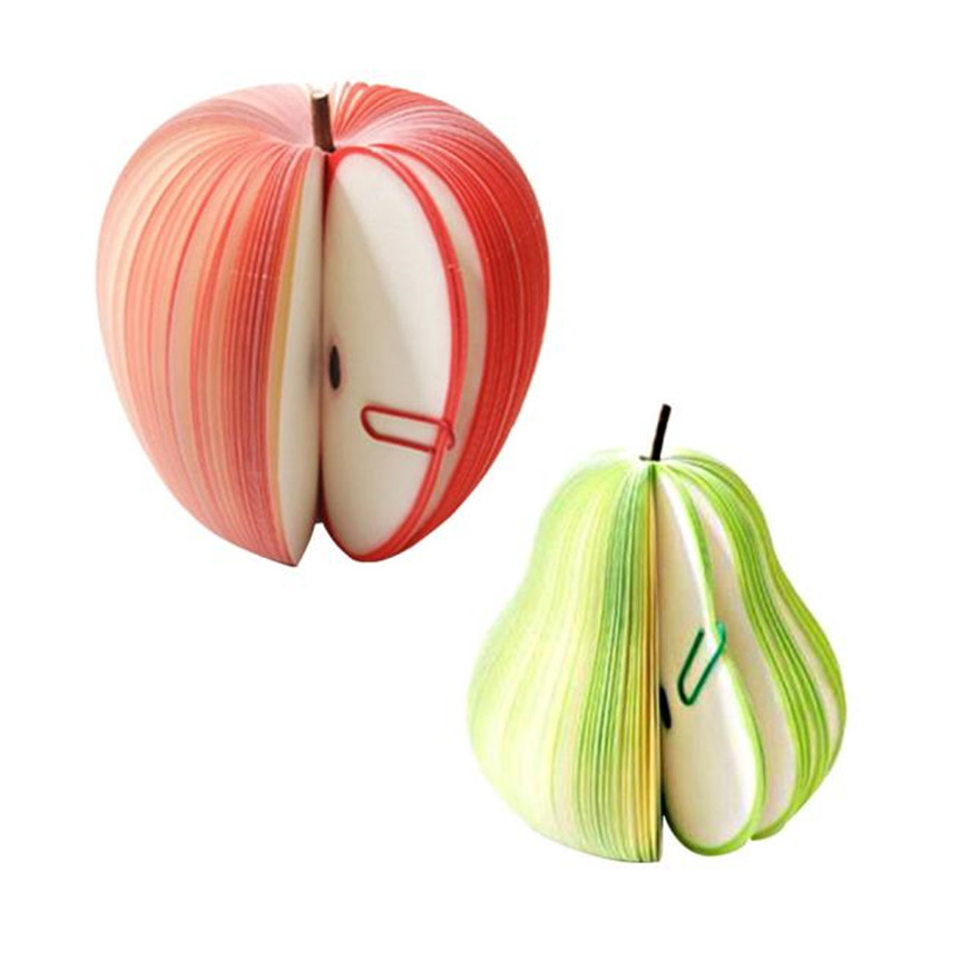 Creative Apple Shapes Sticky Notepads