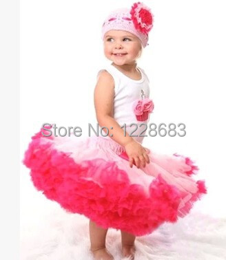 New 2015 Vestidos Blue Black Rose Lavender Pink Colorful Rainbow Fluffy Skirts For Girls Pettiskirt Baby Kids Christmas Tutu