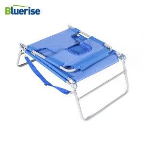 Image 4 - BLUERISE Portable pliable mobilier dextérieur pêche sauvage loisirs plage tabouret soleil sincliner ou poser bronzage ou obtenir un massage