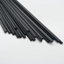 Пп пластиковые сварочные прутки (3 мм) черные, упаковка 40 шт./треугольная форма/сварочные принадлежности