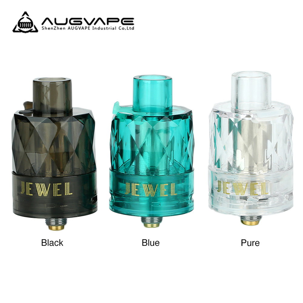 Original 3pcs/pack <font><b>Augvape</b></font> Jewel Subohm Tank with 0.15ohm Mesh Coil 50W To 70w Vape Tank Best for <font><b>Augvape</b></font> <font><b>VX200</b></font> Mod E Cig image
