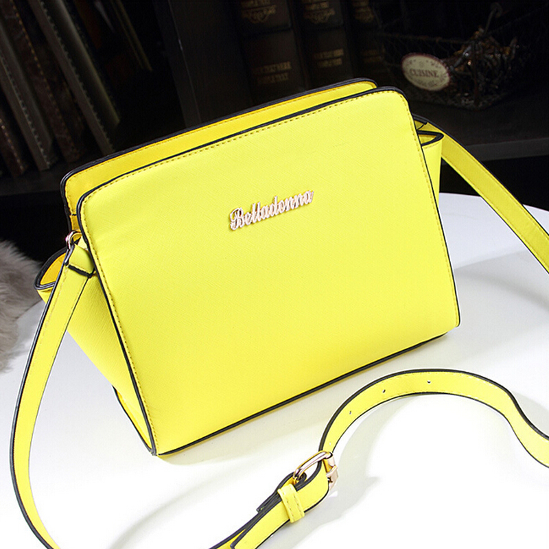 new 2016 famous Brand women messenger bag high fashion crossbody bag designer handbag smiley women s