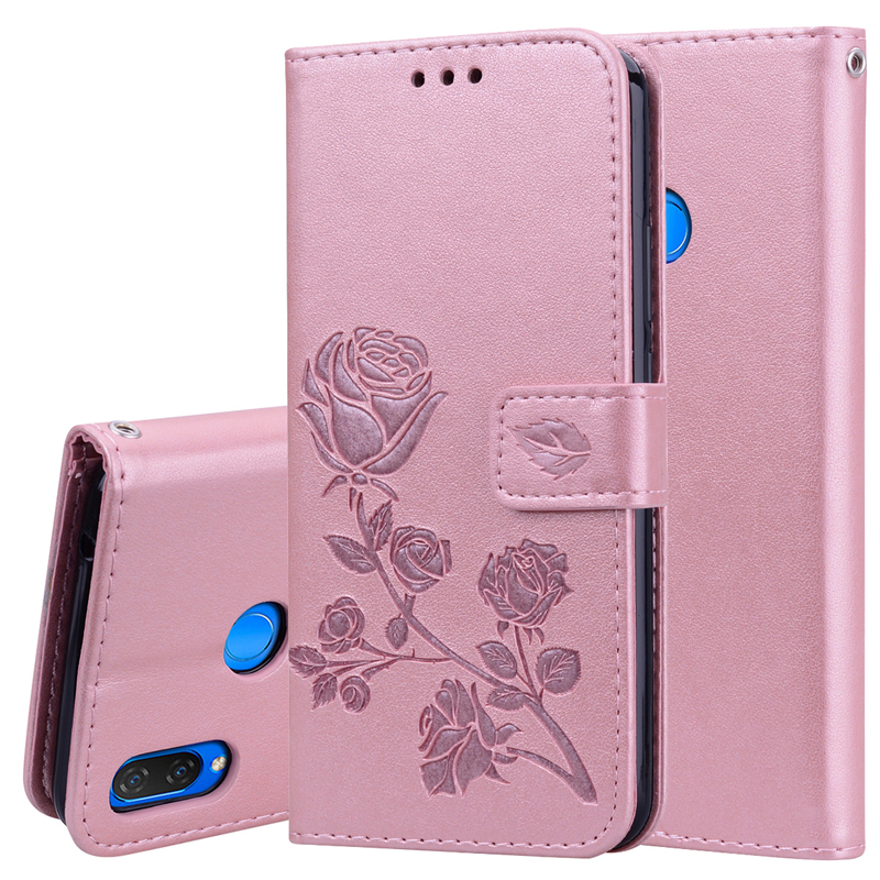 Stand Flip Leather Case For Huawei Nova 3 2S 2 Covers P Smart Plus Nova2 CAN-L12 CAN-L11 PIC-AL00 BAC-L03 Wallet Bags