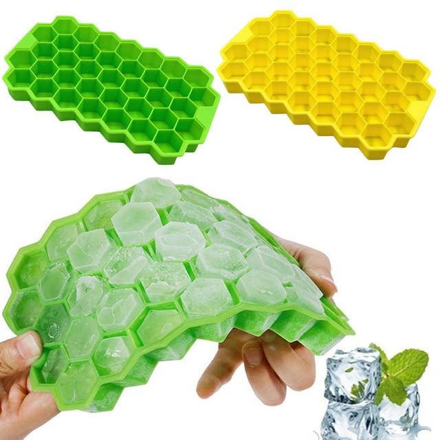 brixini.com - Honeycomb 37 Cubes Ice Tray