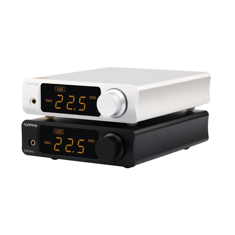 TOPPING DX3 PRO Desktop Bluetooth decodifica amp AK4493 DAC USB XMOS XU208 DSD512 soluzione difficile di uscita Per le Cuffie AK4493 OPA1612