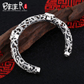 Beier 925 Sterling Silver Bracelet  anchor Exquisite workmanship flower type hollow design man and women bracelet  BR925SZ019
