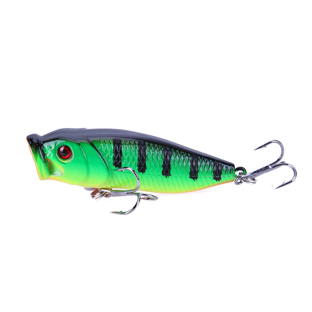 7.5cm 10g Luminous Minnow Shaped Fishing Lure Bait Fishing Tackle 3D Eyes Artificial Baits #8 Hooks Fishing Lures Accessaries