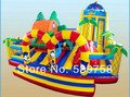 The latest inflatable slides, inflatable castles, Inflatable Bouncer, YLY-065