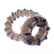 1 * truques mágicos originais para casal, brinquedo para casal, anel duplo, masculino, silicone macio, anel de atraso, duração produto original