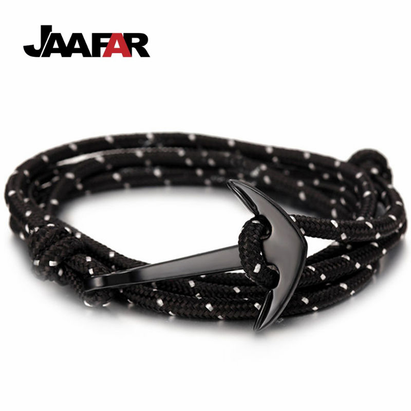 Hot Fashion Jewelry Multilayer Risers Scrub Black Alloy Anchs