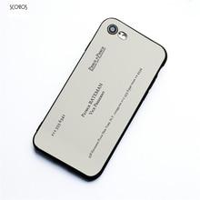SCOZOS Patrick Bateman Carte De Visite American Psycho Tlphone Cas Pour Iphone 5 5S Se 6 7 8 S Plus X Xr Xs Ma