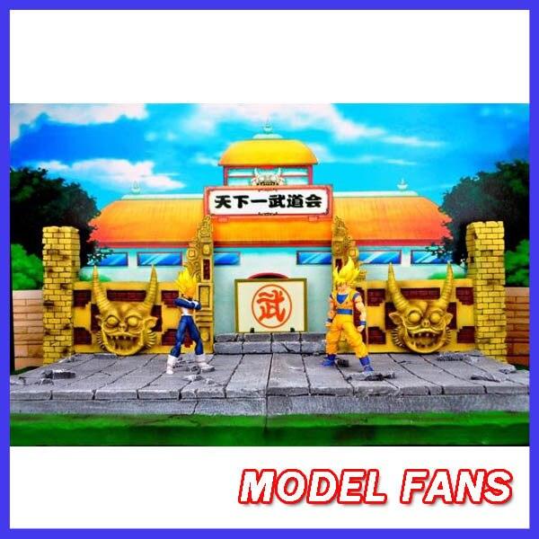 все цены на MODEL FANS Jacksdo-Dragon Ball Z Budokai scene SHF resin glasses Sungukong toy factory WCF series of stock онлайн