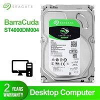 Seagate 4 ТБ настольный жесткий диск внутренний жесткий диск 5900 об/мин SATA 6 ГБ/сек. 64 МБ кэш 3,5 дюйма жесткий диск HDD диск для компьютера ST4000DM004