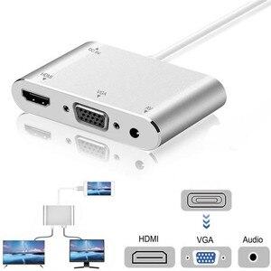 Image 3 - Alta calidad HDTV Cable OTG para Lightning a HDMI VGA AV Audio video adaptador de 8 pines para iPhone X Xs X Max XR para iPad aire Mini iPod
