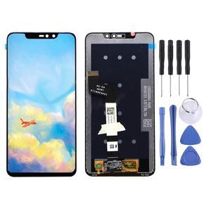 Image 2 - Pantalla LCD para Xiaomi Redmi Note 6 Pro, con Marco, Digitalizador de pantalla táctil, piezas de reparación, novedad de 100%