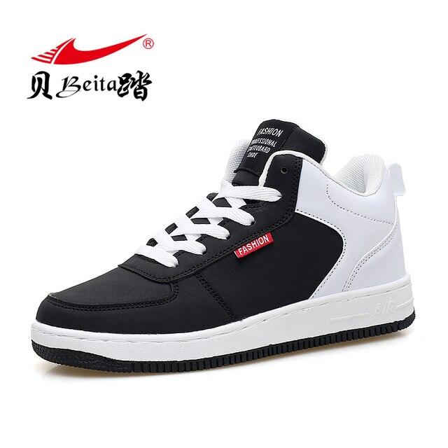 Beita 2017 new Winter running shoes air mesh men women Autumn sport trainers lover sneakers walking zapatillas deportivas boots
