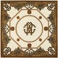 Lepoard Chain Colorful 100% Silk Square Scarf Bandana turban Neck Dress Silk Shawl Scarves Wholesale ZSFJ28