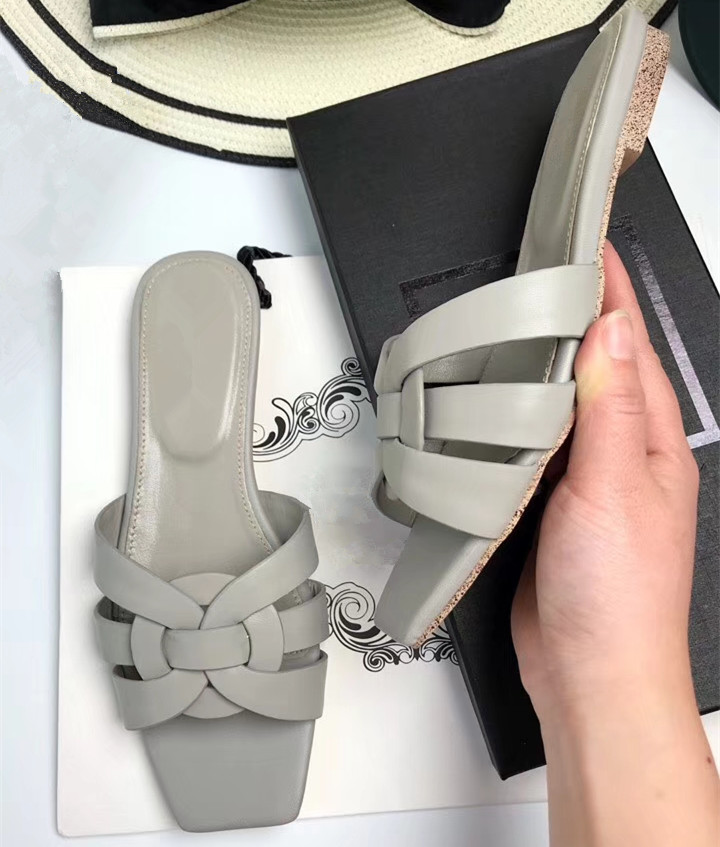 By513 Mujeres Verano Las blanco rosado Chic La 41 De Eu35 Beige plata Zapatos Moda brown borgoña Cuero Real Tamaño gris Vaca Zapatillas Planos negro ZIdqnppw5x