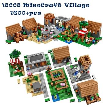 MyWorld Minecraft das Dorf + Gratis Versand ✔ kompatibel mit Lego ✔