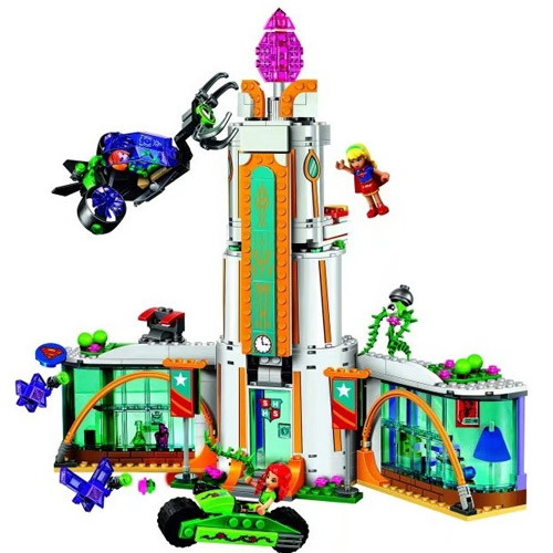 New Compatible With Lego Super Hero Lepin 29001 High School Girl Series Set Building Blocks Brick Toys 41232 Best For Kid lepin 02012 city deepwater exploration vessel 60095 building blocks policeman toys children compatible with lego gift kid sets