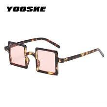 YOOSKE 2018 Pequeno Quadrado de Óculos De Sol Das Mulheres Do Vintage Rua  Personalidade Avant-garde Pequeno Quadro óculos de Sol. 56e5daf56f