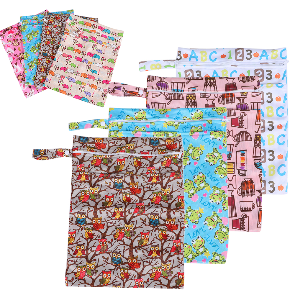 CYSINCOS Baby Washable Reusable Real Cloth STANDARD Hook- Pocket Nappy Diaper Cover Wrap Suits Birth To Potty One Size