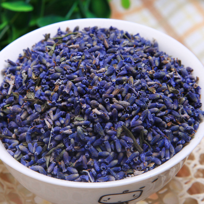 Free shipping dried lavender tea 10g flower tea herbal tea good to sleep dry scented tea