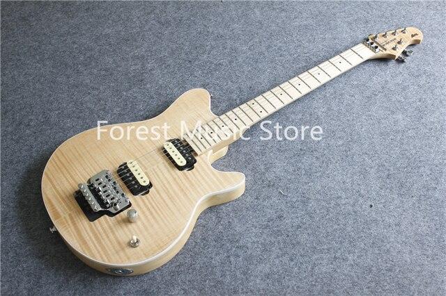 סין טבעי עץ כתם גימור Suneye מוסיקה איש ציר חשמלי גיטרות עם כרום חומרה למכירה